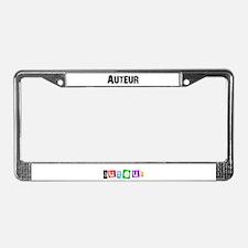 Auteur1.png License Plate Frame