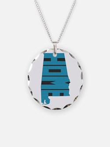 Alabama Home Necklace