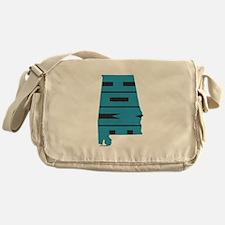 Alabama Home Messenger Bag