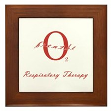 Respiratory Therapy - Athleti Framed Tile