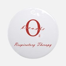 Respiratory Therapy - Athleti Ornament (Round)