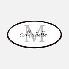 Personalized Monogram Name Patches