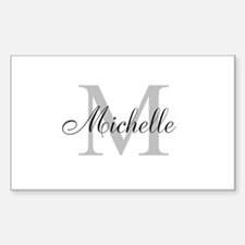 Personalized Monogram Name Decal