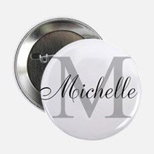 "Personalized Monogram Name 2.25"" Button (10 pack)"