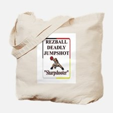 RezBall Deadly Jumpshot Tote Bag