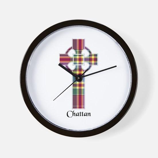 Cross - Chattan Wall Clock