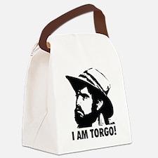 I Am Torgo Canvas Lunch Bag