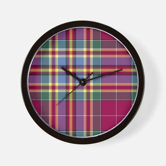 Tartan - Chattan Wall Clock