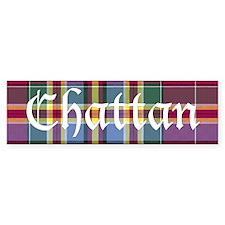 Tartan - Chattan Bumper Sticker
