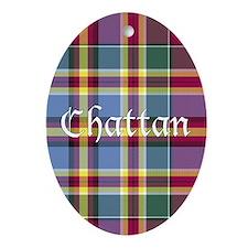 Tartan - Chattan Ornament (Oval)