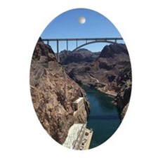 Hoover Dam Oval Ornament