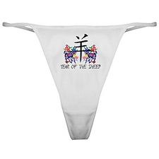 Chinese Zodiac Sign Sheep Classic Thong