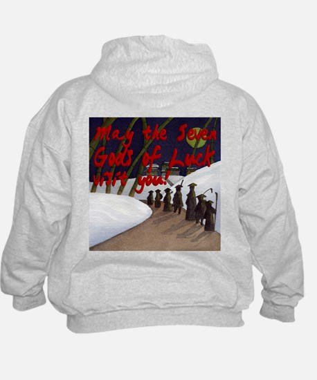 Seven Gods Of Luck Visiting Hoodie
