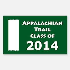 Appalachian Trail Class Of 2014 Decal