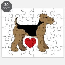 Airedale Terrier Love Puzzle