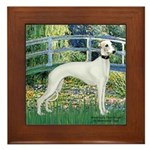 Bridge & Whippet Framed Tile