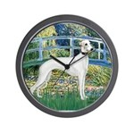 Bridge & Whippet Wall Clock