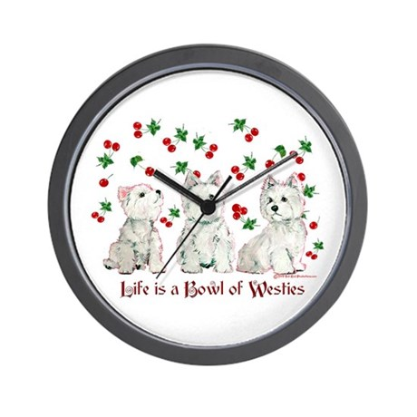 Bowl of WestHighlands Wall Clock