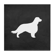 Welsh Springer (long tail) Tile Coaster