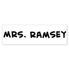 Mrs. Ramsey Bumper Bumper Sticker