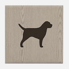 Border Terrier Tile Coaster