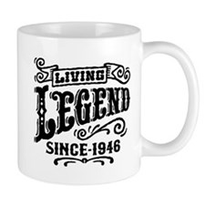 Living Legend Since 1946 Small Mug