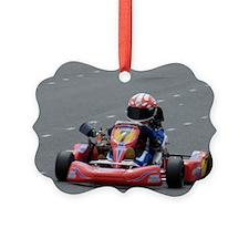 Kart Racing Ornament