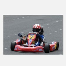 Kart Racing Postcards (Package of 8)