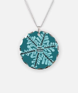 Myasthenia Gravis Awareness Gifts Necklace