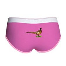 Proud Ringneck Pheasant Women's Boy Brief