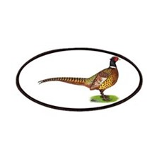 Proud Ringneck Pheasant Patches