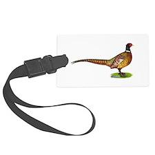 Proud Ringneck Pheasant Luggage Tag