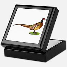 Proud Ringneck Pheasant Keepsake Box