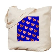 My Heart Belongs to the Stars Stripes Tote Bag
