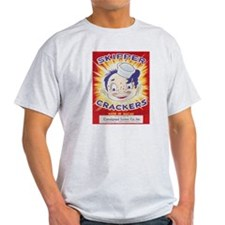 Skippper Crackers Firecracker Label T-Shirt