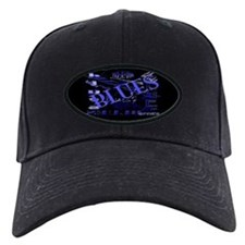 Blues on Blue Baseball Hat