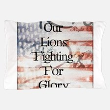 RightOn Lions Pillow Case