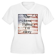 RightOn Lions Plus Size T-Shirt