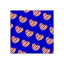 My Heart Belongs to the Stars Stripes Sticker