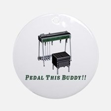 Pedal This Buddy Ornament (round)