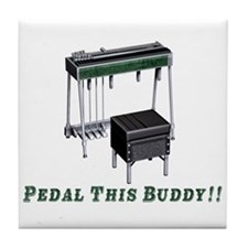 Pedal This Buddy Tile Coaster