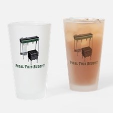 Pedal This Buddy Drinking Glass