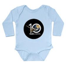 Cassini @ 10! Long Sleeve Infant Bodysuit