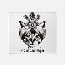 Maharaja Cat Throw Blanket