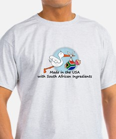 Stork Baby South Africa USA T-Shirt
