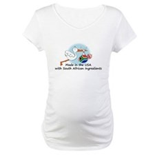 Stork Baby South Africa USA Shirt