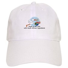 Stork Baby South Africa USA Baseball Cap