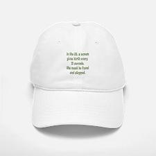 Every 12 Seconds Baseball Baseball Cap