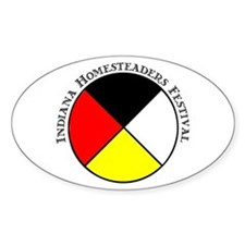 Indiana Homesteaders Festival Medicine Wheel Stick