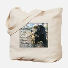 Puppy Change Tote Bag